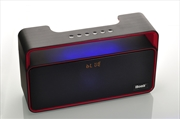 iBomb Party - Super Bass Bluetooth Speaker Black/Red