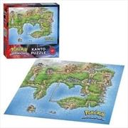 Pokemon Kanto Map 550 Piece Puzzle
