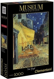 Van Gogh: Cafe Terrace at Night - 1000pc Puzzle  | Merchandise