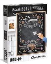 Chalkboard 1 - 1000 Piece Puzzle | Merchandise