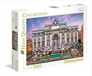 Trevi Fountain 500 Piece Puzzle   Merchandise
