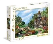 Old Waterway Cottage 500 Piece Puzzle | Merchandise