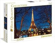 Paris 2000 Piece Puzzle | Merchandise