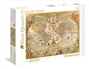 Ancient Map 2000 Piece Puzzle | Merchandise