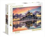 Magnifique Mont Saint Michel 1000 Piece Puzzle | Merchandise