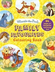Family Favourites : Colouring Book Winnie-the-Pooh