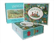 Imagine - Book and Jigsaw Puzzle | Hardback Book
