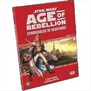 Star Wars Age of Rebellion RPG Strongholds of Resistance | Games