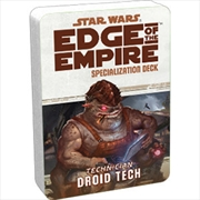 Star Wars Edge of the Empire Droid Tech Specialization Deck | Games