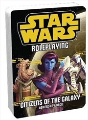 Star Wars RPG Citizens Of The GalaxyAdversary Deck | Games