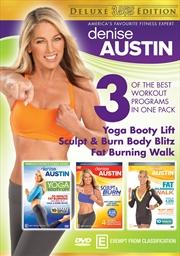 Denise Austin - 3 Disc Deluxe | DVD
