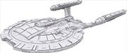 Star Trek - Unpainted Ships: Miranda Class | Merchandise