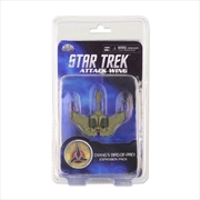 Star Trek - Attack Wing Wave 9 Chang's Bird of Prey Expansion Pack | Merchandise