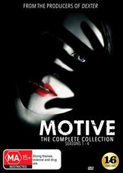 Motive - Season 1-4 | Series Collection