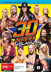 WWE - 30 Years Of Summerslam | DVD
