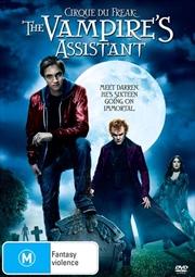 Cirque Du Freak - The Vampire's Assistant | DVD