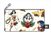 Wonder Woman - Tattoo Print Pencil Case