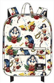 Wonder Woman - Tattoo Print Backpack | Apparel