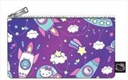 Hello Kitty - Space Print Pencil Case