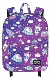 Hello Kitty - Space Print Backpack