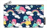 Hello Kitty - Rainbow Clouds Print Pencil Case
