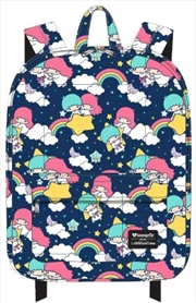 Hello Kitty - Rainbow Clouds Print Backpack