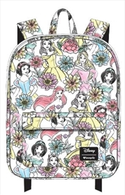 Disney - Princesses Line Art Print Backpack