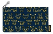 Pokemon - Pikachu Expressions Print Pencil Case