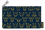 Pokemon - Pikachu Expressions Print Pencil Case