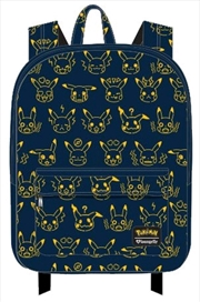 Pokemon - Pikachu Expressions Print Backpack