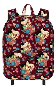 Mulan - Mulan with Fan Print Backpack