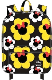 Mickey Mouse - Minnie Flower Print Backpack