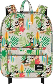 Mickey Mouse - Mickey Hawaii Print Backpack