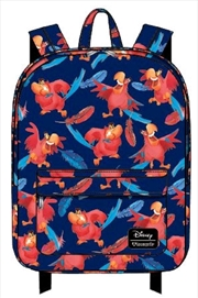 Aladdin - Iago Print Backpack