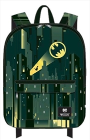 Batman - Gotham with Bat Signal Backpack