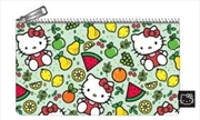Hello Kitty - Fruit Print Pencil Case