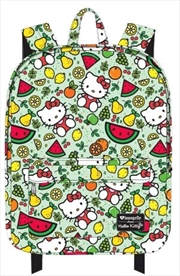 Hello Kitty - Fruit Print Backpack