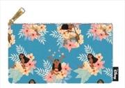 Moana - Flower Print Pencil Case