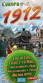 Ticket to Ride Europa 1912 Expansion | Merchandise