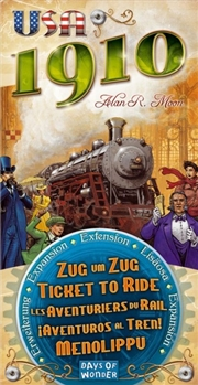 Ticket to Ride USA 1910 Expansion | Merchandise