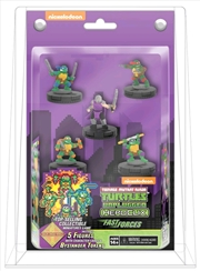 Heroclix - Teenage Mutant Ninja Turtles Unplugged Fast Forces 6-pack