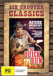 Quick Gun Six Shooter Classics, The | DVD