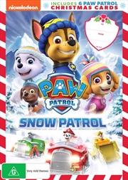 Paw Patrol - Snow Patrol | X'mas Cards | DVD