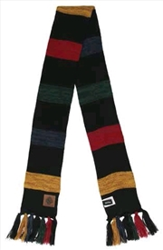 Harry Potter - Hogwarts Heathered Knit Scarf | Apparel