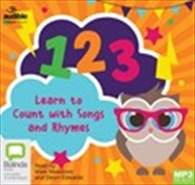 123: Learn to Count with Songs and Rhymes (MP3)