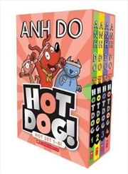 Hotdog! Hot Set 1-4! | Paperback Book