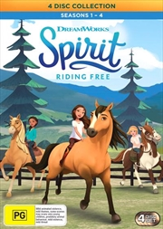 Spirit - Riding Free - Season 1-4 | Boxset | DVD