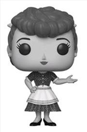 I Love Lucy - Lucy Black & White US Exclusive Pop! Vinyl [RS] | Pop Vinyl