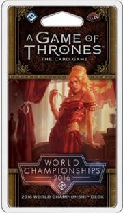 A Game of Thrones LCG: 2016 World Championship Joust Deck | Merchandise