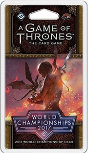 A Game of Thrones LCG -2017 Joust World Championship Deck | Merchandise
